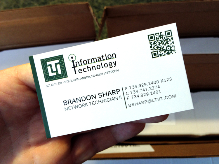 Business Cards Gryphon View
